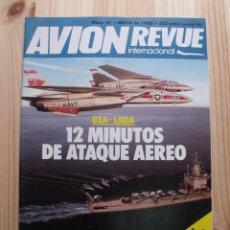 Coleccionismo de Revistas y Periódicos: REVISTA AVION REVUE INTERNACIONAL Nº 47 - MAYO 1986. Lote 183958878