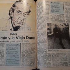 Coleccionismo de Revistas y Periódicos: BERGAMIN Y LA VIEJA DAMA POR IGNACIO ALVAREZ VARA - 3 PAGINAS - AÑO 1983. Lote 184075453