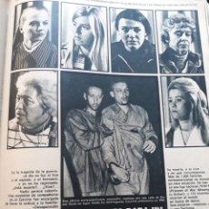 Coleccionismo de Revistas y Periódicos: SEIS MUJERES PARA UN SOLO DRAMA : VIETNAM - 3 PAGINAS - AÑO 1971. Lote 184087921