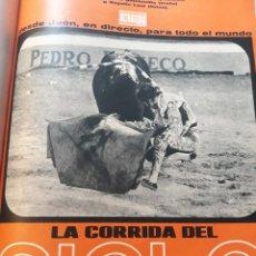 Coleccionismo de Revistas y Periódicos: LA CORRIDA DEL SIGLO, DESDE JAÉN PARA TODO EL MUNDO- 7 PAGINAS - AÑO 1971. Lote 184089021