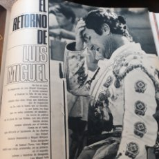 Coleccionismo de Revistas y Periódicos: EL RETORNO DE LUIS MIGUEL DOMINGUIN - 4 PÁGINAS AÑO 1971. Lote 184092310