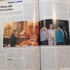 Coleccionismo de Revistas y Periódicos: CASO EDELWEIS , LAS VICTIMAS DEL EXTRATERRESTE - 2 PAGINAS OCTUBRE DE AÑO 1991. Lote 184101901
