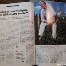 Coleccionismo de Revistas y Periódicos: ENTREVISTA A JOHN UPDIKE - 5 PÁGINAS AÑO 1991. Lote 184102485