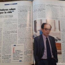 Coleccionismo de Revistas y Periódicos: ENTREVISTA AL ESCRITOR ALBANÉS ISMAEL KADARE - 2 PÁGINAS AÑO 1991. Lote 184102656