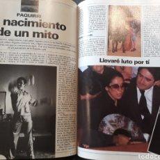 Coleccionismo de Revistas y Periódicos: MUERTE DE PAQUIRRI - EL NACIMIENTO DE UN MITO 10 PAGINAS AÑO 1984. Lote 184103590