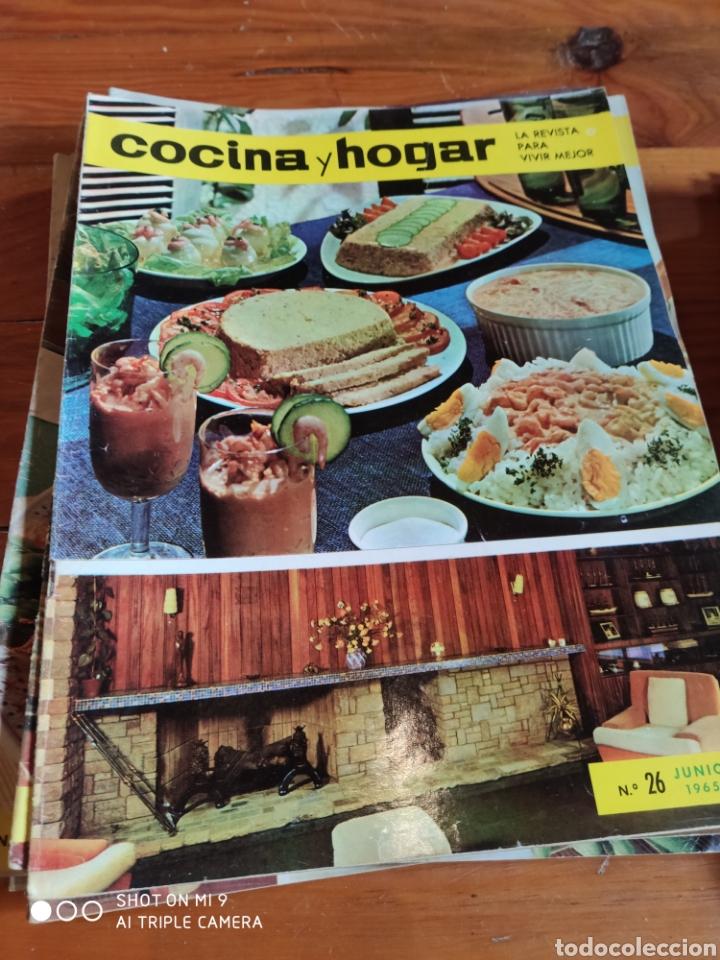 Coleccionismo de Revistas y Periódicos: Revista Cocina y hogar, 1964-1969 - Foto 2 - 184186746