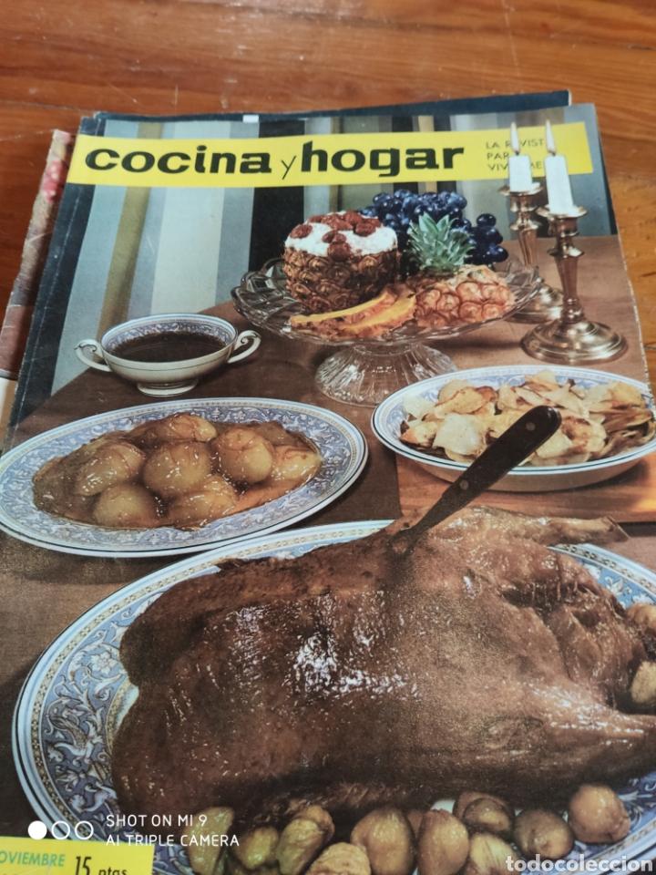 Coleccionismo de Revistas y Periódicos: Revista Cocina y hogar, 1964-1969 - Foto 3 - 184186746
