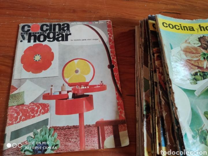 REVISTA COCINA Y HOGAR, 1964-1969 (Coleccionismo - Revistas y Periódicos Modernos (a partir de 1.940) - Otros)