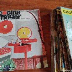 Coleccionismo de Revistas y Periódicos: REVISTA COCINA Y HOGAR, 1964-1969. Lote 184186746