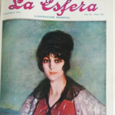 Coleccionismo de Revistas y Periódicos: LA ESFERA 1916 ESPECIAL GUIPUZCOA SAN SEBASTIAN ZULOAGA EIBAR INDUSTRIAS,HERLADICA. Lote 184193610