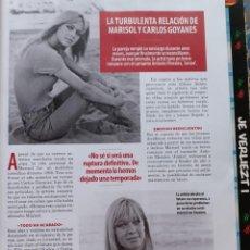 Coleccionismo de Revistas y Periódicos: MARISOL PEPA FLORES. Lote 184406478