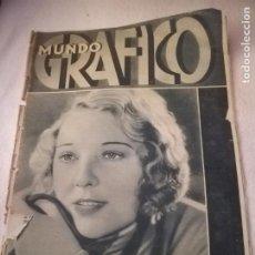 Colecionismo de Revistas e Jornais: MUNDO GRAFICO. Nº 1057. 03/02/1932. FUTURA GUERRA QUIMICA, HUELGA REVOLUCIONARIA, FABRICA CONFETIS. Lote 262883255