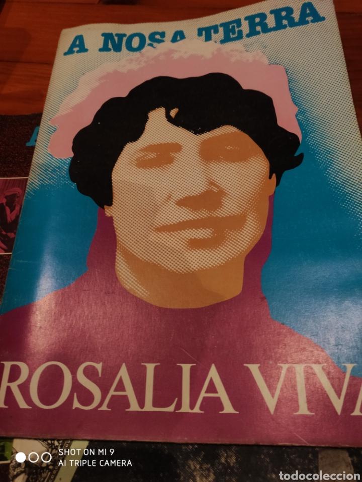A NOSA TERRA. ROSALÍA VIVA (Coleccionismo - Revistas y Periódicos Modernos (a partir de 1.940) - Otros)