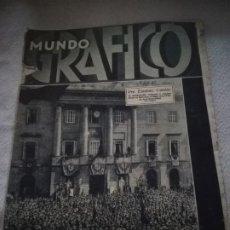 Coleccionismo de Revistas y Periódicos: MUNDO GRAFICO. Nº 1069. 27/04/1932. ACTUALIDAD EXTRANJERO, FERIA MACARENA SEVILLA, LLIGA REGIONALIST. Lote 184658793