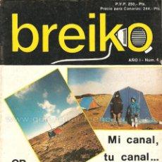 Coleccionismo de Revistas y Periódicos: REVISTA BREIKO RADIOAFICIONADOS AÑO 1 Nº 4 1987. Lote 184677132