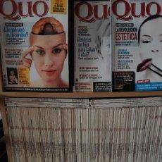 Coleccionismo de Revistas y Periódicos: QUO. COLECCIÓN MÁS DE 125 NUMEROS. Lote 184903892