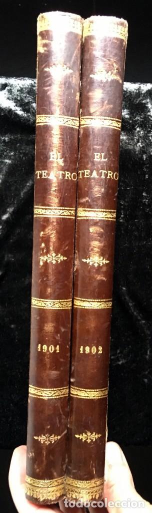 REVISTA EL TEATRO - NÚMEROS 1 AL 27, AÑOS 1900 - 1901 Y 1902 (Coleccionismo - Revistas y Periódicos Antiguos (hasta 1.939))
