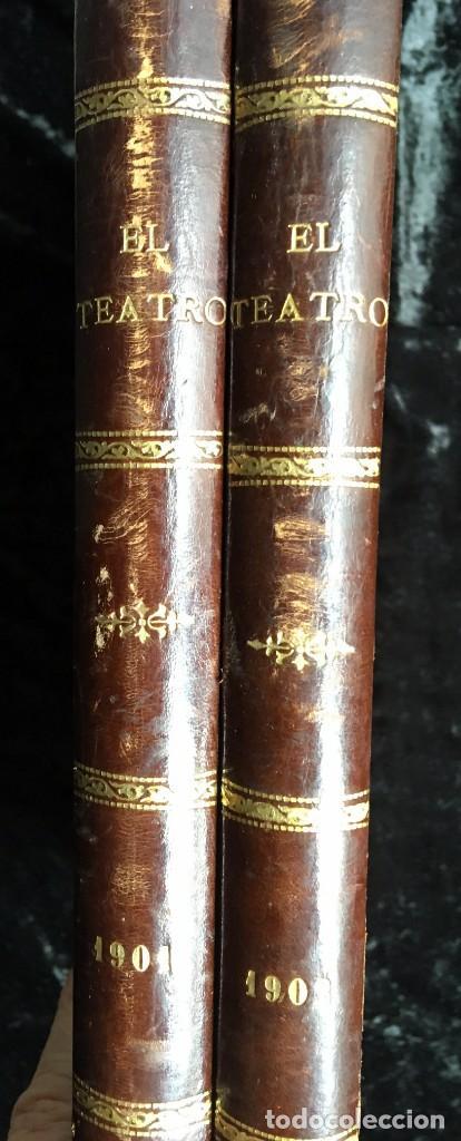Coleccionismo de Revistas y Periódicos: REVISTA EL TEATRO - NÚMEROS 1 AL 27, AÑOS 1900 - 1901 Y 1902 - Foto 9 - 185467513