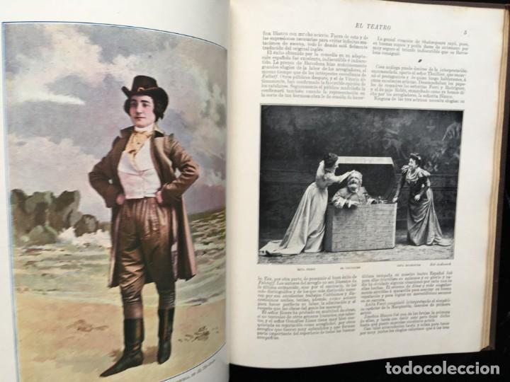 Coleccionismo de Revistas y Periódicos: REVISTA EL TEATRO - NÚMEROS 1 AL 27, AÑOS 1900 - 1901 Y 1902 - Foto 11 - 185467513