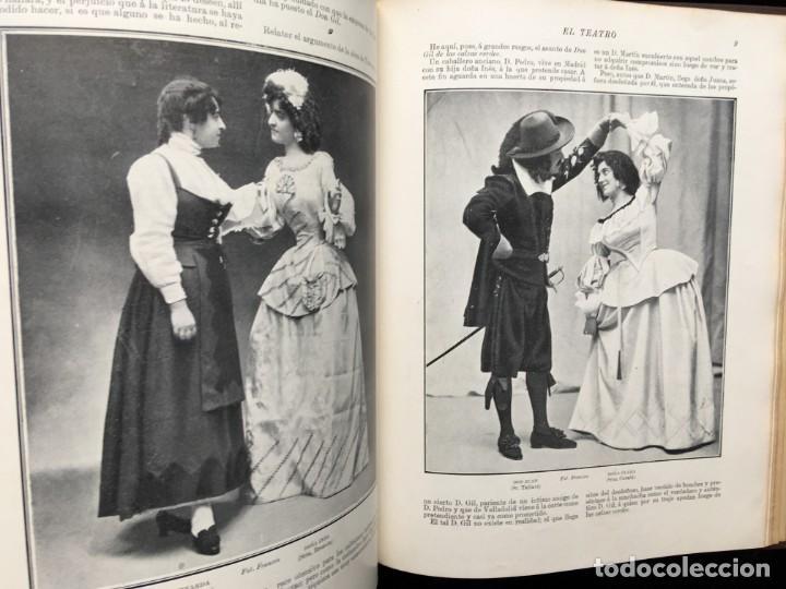Coleccionismo de Revistas y Periódicos: REVISTA EL TEATRO - NÚMEROS 1 AL 27, AÑOS 1900 - 1901 Y 1902 - Foto 14 - 185467513