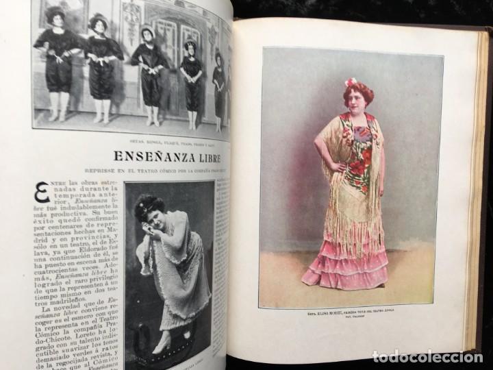 Coleccionismo de Revistas y Periódicos: REVISTA EL TEATRO - NÚMEROS 1 AL 27, AÑOS 1900 - 1901 Y 1902 - Foto 15 - 185467513