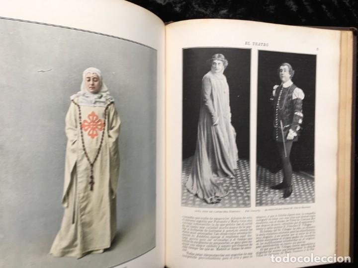 Coleccionismo de Revistas y Periódicos: REVISTA EL TEATRO - NÚMEROS 1 AL 27, AÑOS 1900 - 1901 Y 1902 - Foto 16 - 185467513