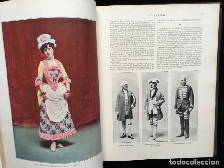 Coleccionismo de Revistas y Periódicos: REVISTA EL TEATRO - NÚMEROS 1 AL 27, AÑOS 1900 - 1901 Y 1902 - Foto 17 - 185467513