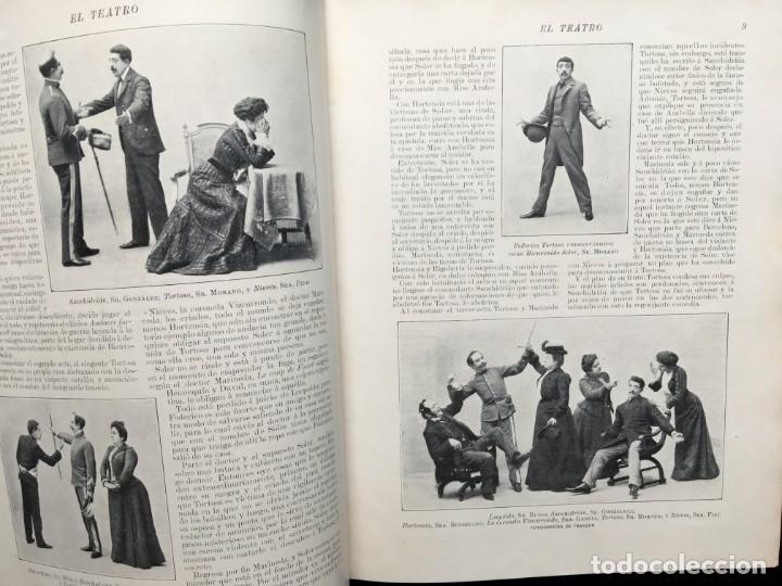 Coleccionismo de Revistas y Periódicos: REVISTA EL TEATRO - NÚMEROS 1 AL 27, AÑOS 1900 - 1901 Y 1902 - Foto 18 - 185467513