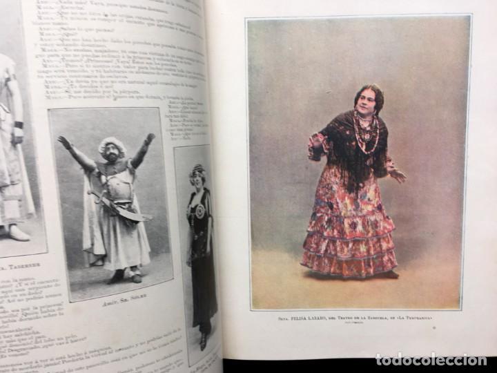 Coleccionismo de Revistas y Periódicos: REVISTA EL TEATRO - NÚMEROS 1 AL 27, AÑOS 1900 - 1901 Y 1902 - Foto 19 - 185467513