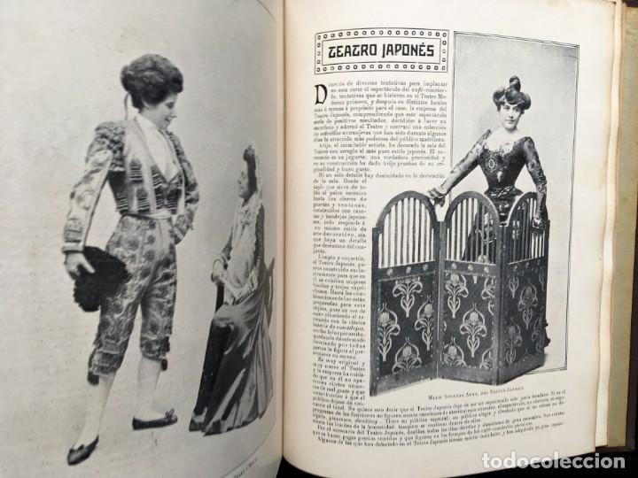 Coleccionismo de Revistas y Periódicos: REVISTA EL TEATRO - NÚMEROS 1 AL 27, AÑOS 1900 - 1901 Y 1902 - Foto 20 - 185467513