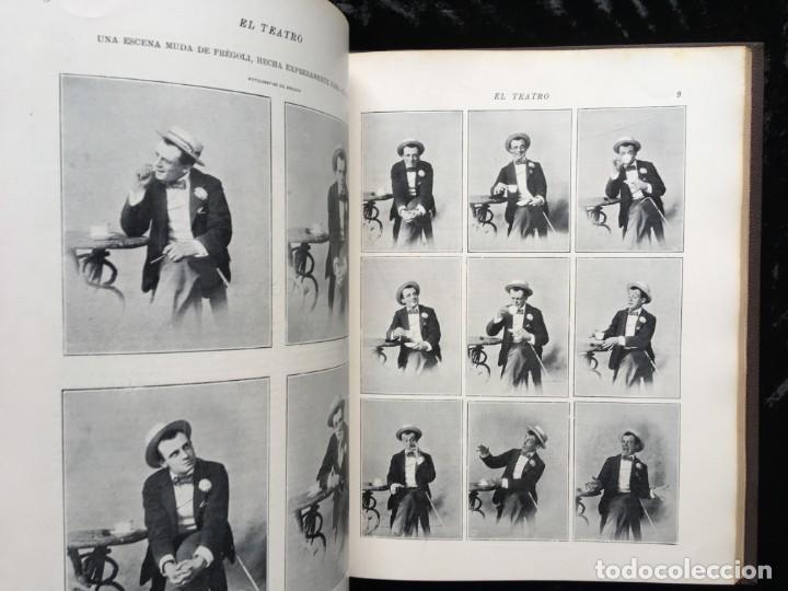 Coleccionismo de Revistas y Periódicos: REVISTA EL TEATRO - NÚMEROS 1 AL 27, AÑOS 1900 - 1901 Y 1902 - Foto 23 - 185467513