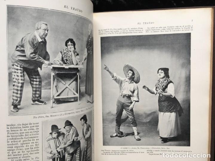 Coleccionismo de Revistas y Periódicos: REVISTA EL TEATRO - NÚMEROS 1 AL 27, AÑOS 1900 - 1901 Y 1902 - Foto 24 - 185467513