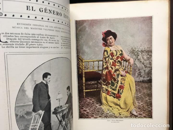 Coleccionismo de Revistas y Periódicos: REVISTA EL TEATRO - NÚMEROS 1 AL 27, AÑOS 1900 - 1901 Y 1902 - Foto 25 - 185467513