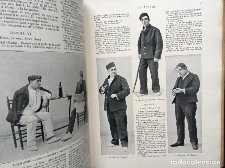 Coleccionismo de Revistas y Periódicos: REVISTA EL TEATRO - NÚMEROS 1 AL 27, AÑOS 1900 - 1901 Y 1902 - Foto 26 - 185467513