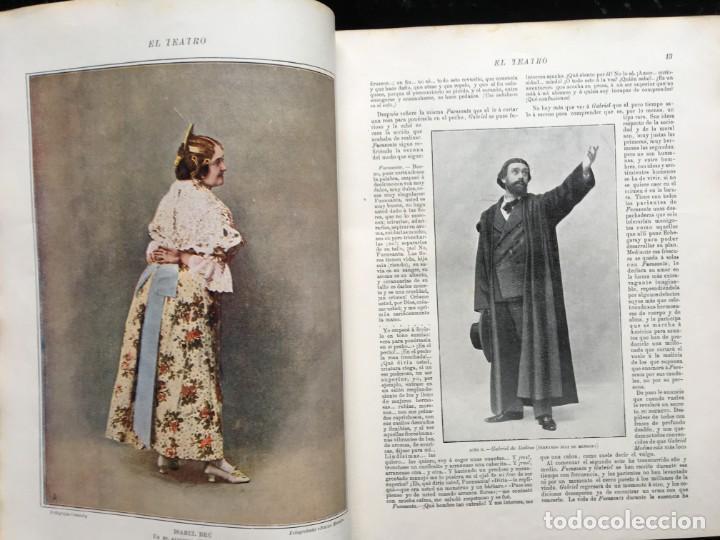 Coleccionismo de Revistas y Periódicos: REVISTA EL TEATRO - NÚMEROS 1 AL 27, AÑOS 1900 - 1901 Y 1902 - Foto 27 - 185467513
