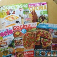 Coleccionismo de Revistas y Periódicos: LOTE 5 REVISTAS VARIADAS DE COCINA. Lote 185695115
