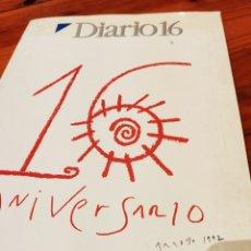 Coleccionismo de Revistas y Periódicos: DIARIO 16 DE 1976-1992. Lote 185751178