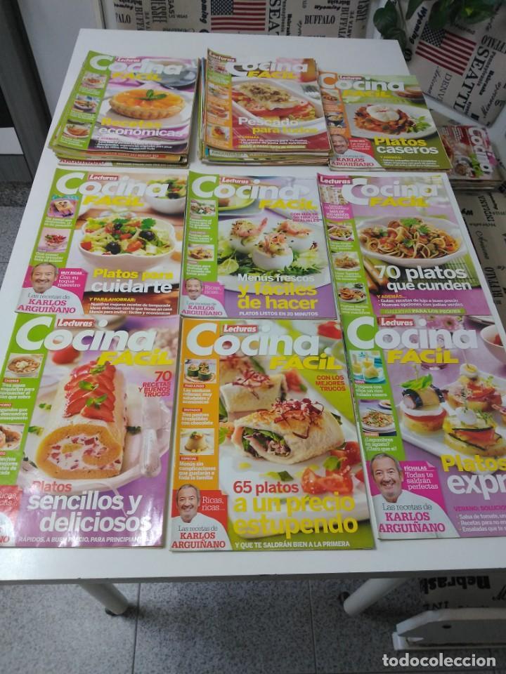 LOTE DE 30 REVISTAS DE COCINA LECTURAS COCINA FÁCIL (Coleccionismo - Revistas y Periódicos Modernos (a partir de 1.940) - Otros)