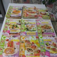 Coleccionismo de Revistas y Periódicos: LOTE DE 30 REVISTAS DE COCINA LECTURAS COCINA FÁCIL. Lote 185770618