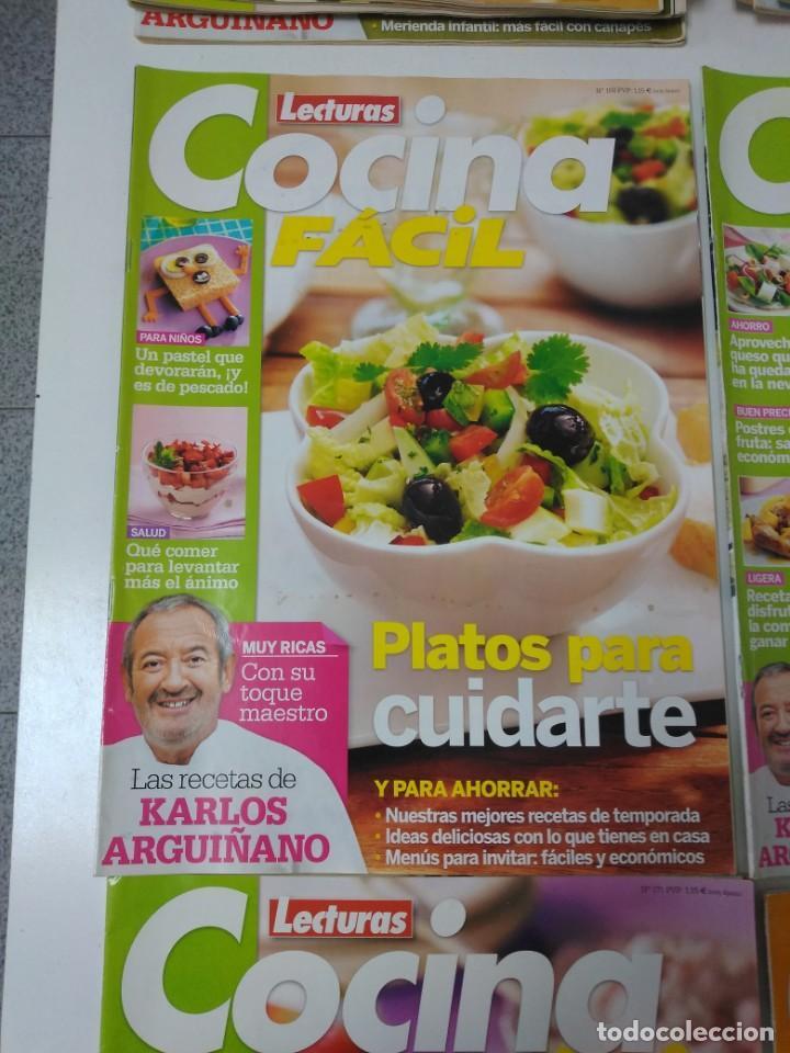 Coleccionismo de Revistas y Periódicos: Lote de 30 revistas de cocina Lecturas Cocina Fácil - Foto 2 - 185770618