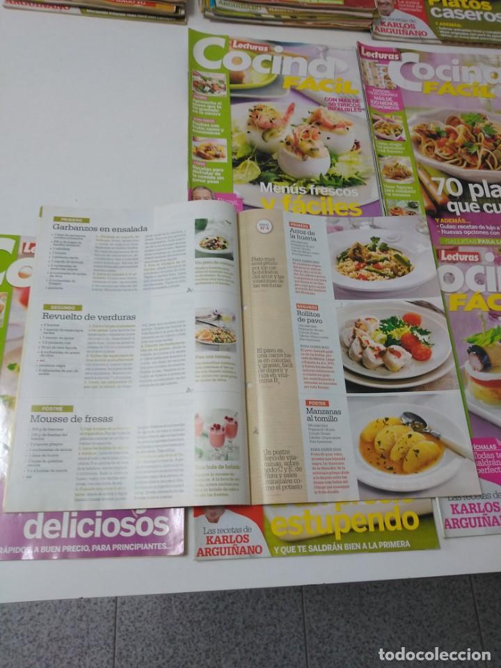 Coleccionismo de Revistas y Periódicos: Lote de 30 revistas de cocina Lecturas Cocina Fácil - Foto 3 - 185770618