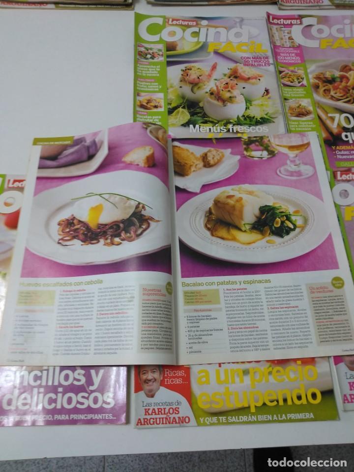 Coleccionismo de Revistas y Periódicos: Lote de 30 revistas de cocina Lecturas Cocina Fácil - Foto 4 - 185770618