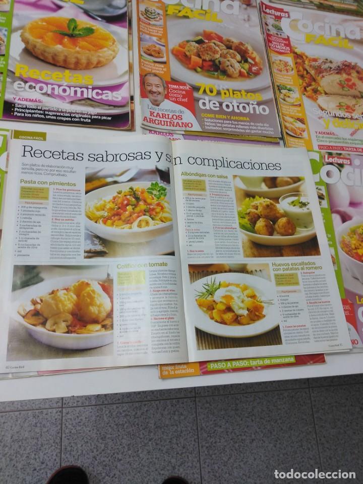 Coleccionismo de Revistas y Periódicos: Lote de 30 revistas de cocina Lecturas Cocina Fácil - Foto 5 - 185770618