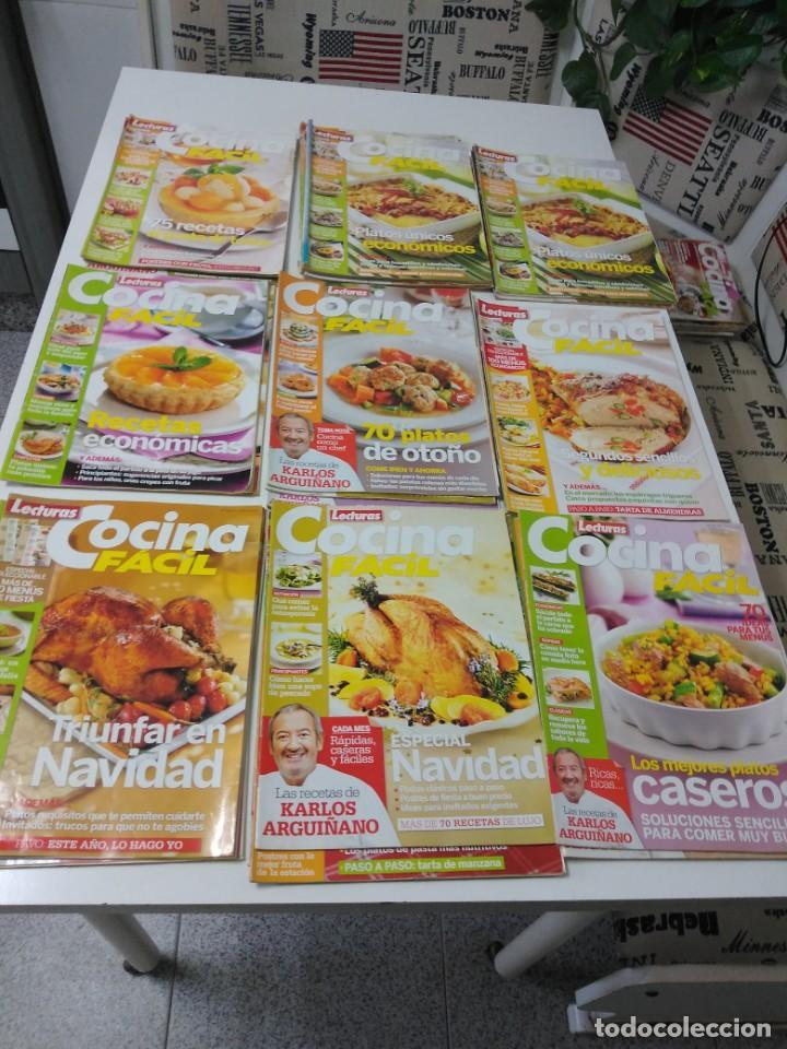Coleccionismo de Revistas y Periódicos: Lote de 30 revistas de cocina Lecturas Cocina Fácil - Foto 6 - 185770618