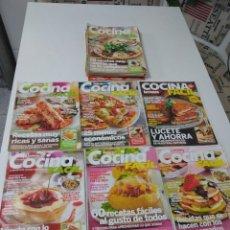 Coleccionismo de Revistas y Periódicos: LOTE DE 20 REVISTAS DE COCINA LECTURAS COCINA FÁCIL. Lote 185771143