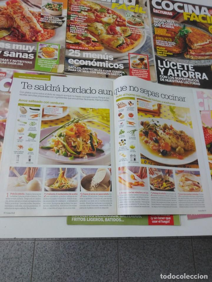 Coleccionismo de Revistas y Periódicos: Lote de 20 revistas de cocina Lecturas Cocina Fácil - Foto 2 - 185771143