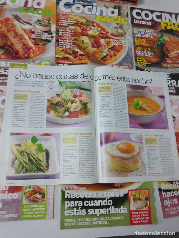 Coleccionismo de Revistas y Periódicos: Lote de 20 revistas de cocina Lecturas Cocina Fácil - Foto 3 - 185771143