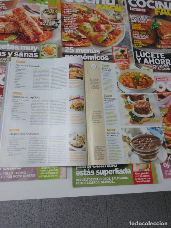 Coleccionismo de Revistas y Periódicos: Lote de 20 revistas de cocina Lecturas Cocina Fácil - Foto 4 - 185771143