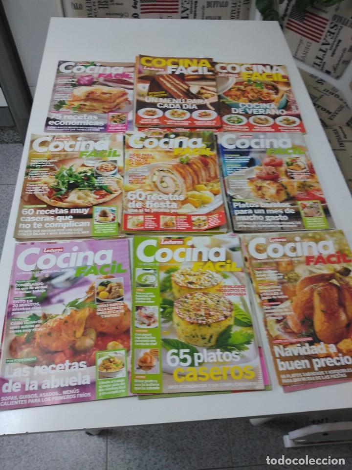 Coleccionismo de Revistas y Periódicos: Lote de 20 revistas de cocina Lecturas Cocina Fácil - Foto 5 - 185771143