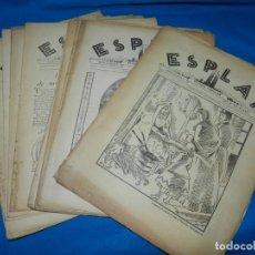 Coleccionismo de Revistas y Periódicos: (M) LOTE DE LOS 13 PRIMEROS NÚMEROS DE LA REVISTA ESPLAI SUPLEMENT REVISTA POPULAR D'EL MATI - 1931. Lote 185958692